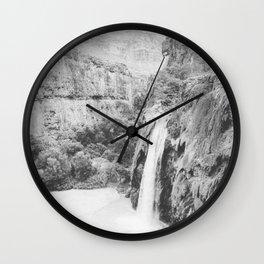 HAVASU FALLS / Grand Canyon, Arizona Wall Clock