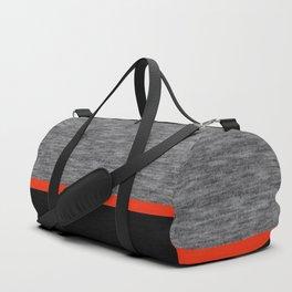 Athletic grey with orange Duffle Bag