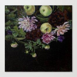Pommes Verte Canvas Print