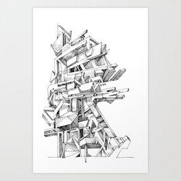 wtb General Contractor Art Print