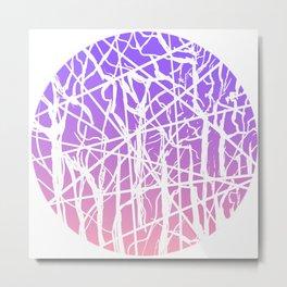 Gradient Metal Print