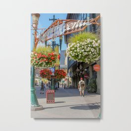 Stephen Avenue Walk Metal Print