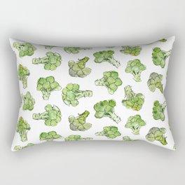 Broccoli - Scattered Rectangular Pillow
