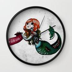 Creature of the sea Wall Clock