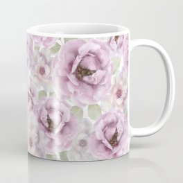 Rose Garden Watercolour Coffee Mug