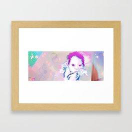 New Born Sphere Framed Art Print