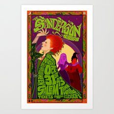 The Sanderson Sister Live in Concert Art Print