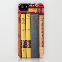 Vintage Books iPhone Case