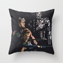 Targeted for Termination (The Terminator) Throw Pillow