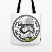 storm trooper Tote Bags featuring Storm Trooper by KODYMASON