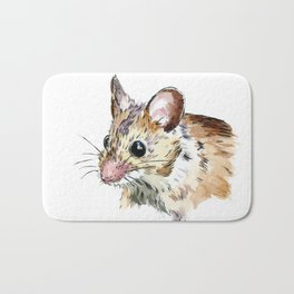 Little Brown Mouse Bath Mat