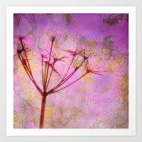Meadow Pink Art Print