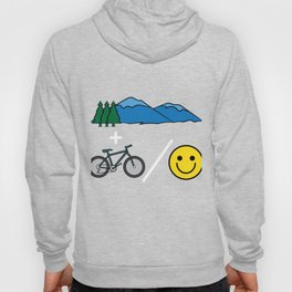 """Big fan of """"Mountain Bike""""? Grab this awesome tee and wear them anytime. Stay creative and positive! Hoody"""