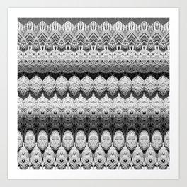 Rattan Art Print