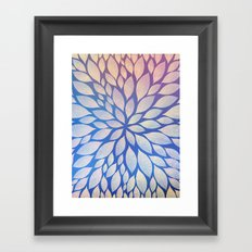 Petal Burst #17 Framed Art Print