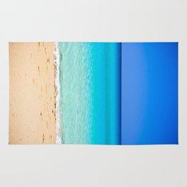 Beach on Crete Rug