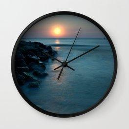 Dreamy sunrise Wall Clock