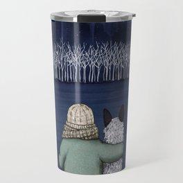 Love and Starlight with Blue Heeler Travel Mug