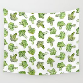 Broccoli - Scattered Wall Tapestry