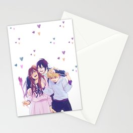 Noragami hugs! Stationery Cards