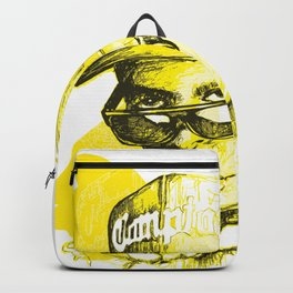 Digital Drawing #34 - Easy E in Yellow Backpack