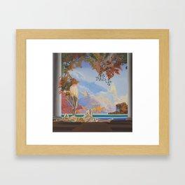 After Maxfield Parrish Framed Art Print