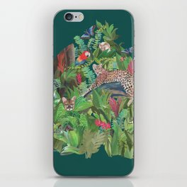 Into the Wild Emerald Forest iPhone Skin