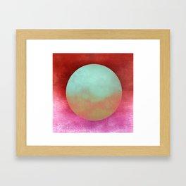 Circle Composition X Framed Art Print