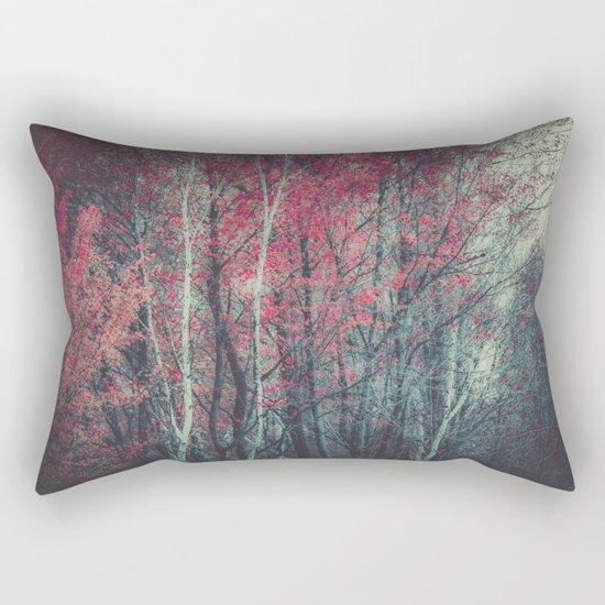Still Falling Rectangular Pillow