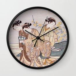 Tama River Wall Clock