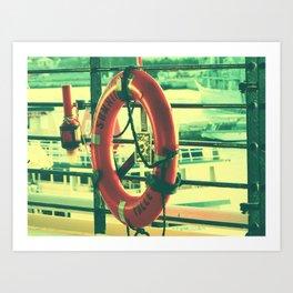 I'd rather drown (my troubles) Art Print