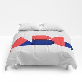 Geometric ABC Comforters