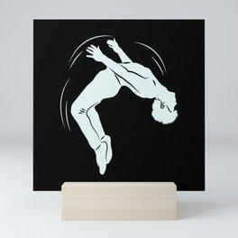 Ask Me If I Can Do A Back Flip Motif Mini Art Print