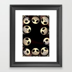 Nightmare before Christmas. Framed Art Print