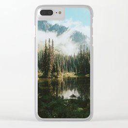 Quiet Washington Morning Clear iPhone Case
