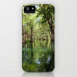 Wimberley Blue Hole iPhone Case