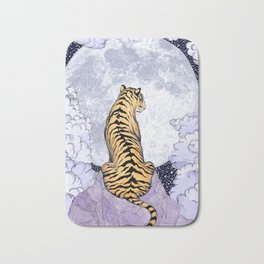 Tiger Moon | Colour Version Bath Mat