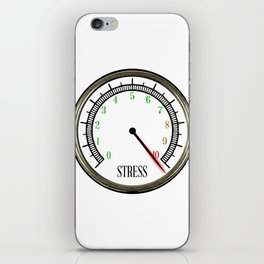 Stress Meter iPhone Skin