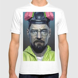 Low Poly Walter White T-shirt