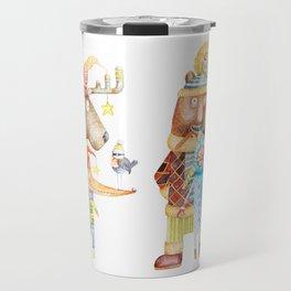 Christmas Animals Travel Mug