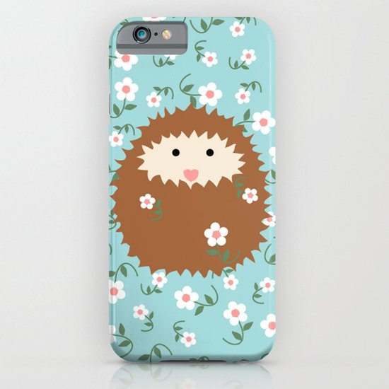 Hedgie in Spring iPhone & iPod Case