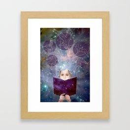 Project Books! Framed Art Print