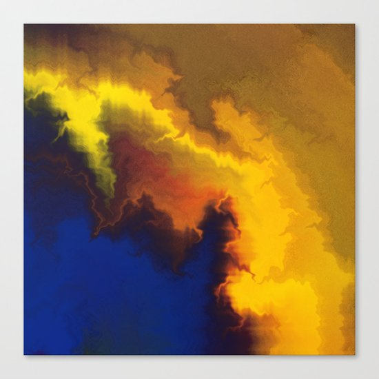 Mystical Movement Canvas Print