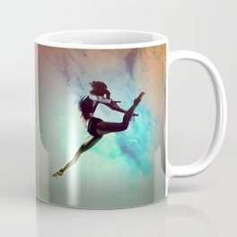Ballet Dancer Feat Lady Dreams Abstract Art Coffee Mug