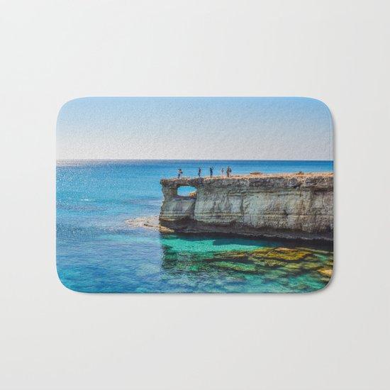 Cyprus Sea IV Bath Mat
