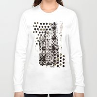 arab Long Sleeve T-shirts featuring Dotty Arabesque by Bestree Art Designs
