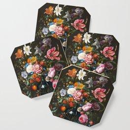 Vase with flowers - Jan Davidsz. de Heem (1670) Coaster