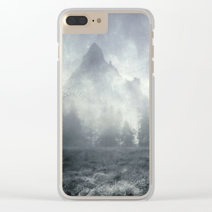 guardians of lonely mountain Clear iPhone Case