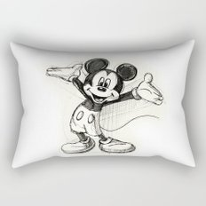 Mickey Mouse Rectangular Pillow