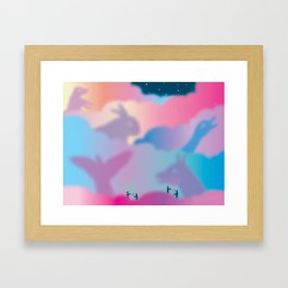 Aurora Borealis Explained Framed Art Print